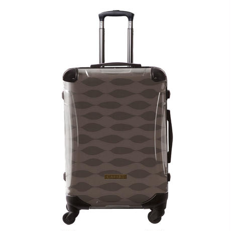 アートスーツケース#CRA03H-041A|ジャパニーズ旅趣 | 波線織(ブラウン)