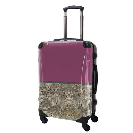 アートスーツケース#CRA03H-018A ジャパニーズモダン 旅人(ピンク)