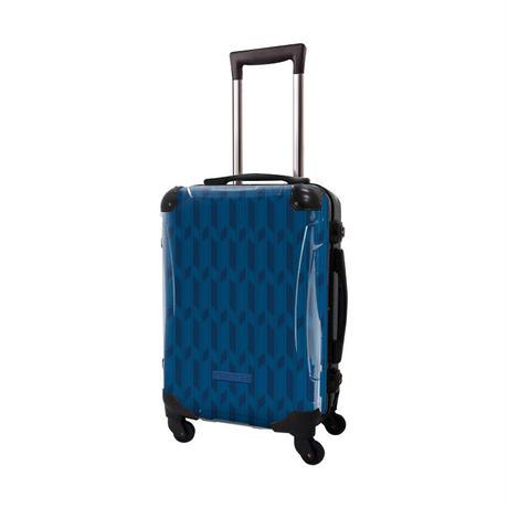 アートスーツケース #CRA01H-044A ジャパニーズ旅趣  麻羽織 紺色