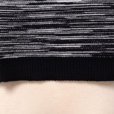 ミッソーニ Missoni ショート丈セーター 羊毛ミックス モノトーン