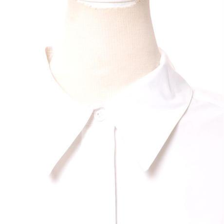 ドロシーシューマッハ Dorothee Schumacher オーバーシャツ コットンストレッチ ホワイト