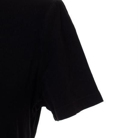 プロエンザスクーラー Proenza Schouler 半袖ロゴ入りカットソー コットンジャージー ブラック
