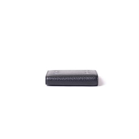 メゾン マルジェラ Maison Margiela 2つ折り財布 グレインカーフレザー ブラック