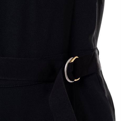 ゴールデングース Golden Goose フロントパネル ミディ Afrodite ジャンプスーツ ジャージー ブラック