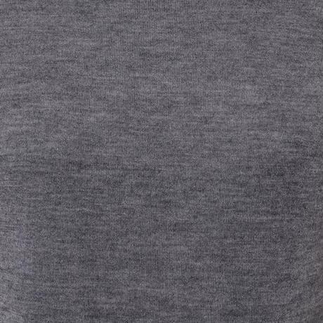 プラスプラス +2 カリアッジカシミアタートルセーター ヨコアンティオリジナル グレー