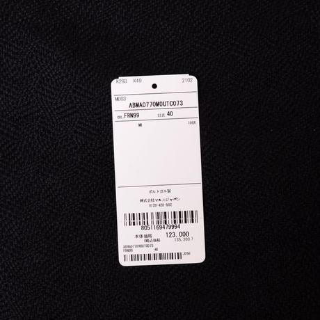 マルニ Marni シャツ襟ワンピース コットン ブラックプリント