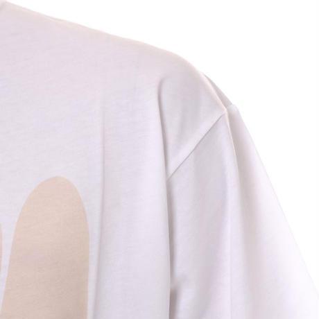 ラフシモンズ RAF SIMONS ソリタリィディスオーダー・ビッグフィットTシャツ コットン ホワイト