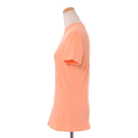 プロエンザスクーラー Proenza Schouler 半袖ロゴ入りカットソー コットンジャージー オレンジ