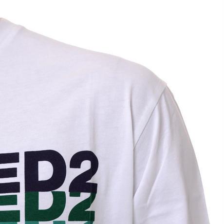 ディースクエアード Dsquared2 マルチロゴTシャツ ホワイト