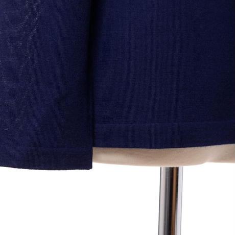 プラスプラス +2 カリアッジカシミアタートルセーター ヨコアンティオリジナル ネイビー