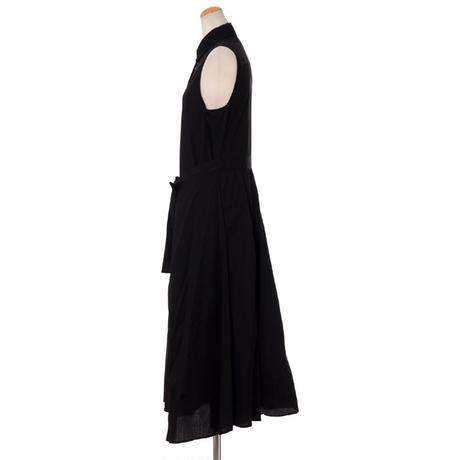 ロゼッタゲッティ ROSETTA GETTY シャツドレス コットン ブラック