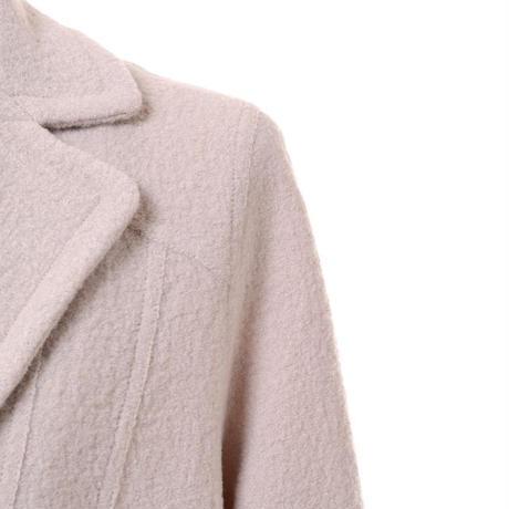 ネネミラノ Nene MILANO テーラードジャケット ウールフラノ アイボリー