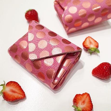 ドットレザーミニウォレット 【Dot Leather Mini Wallet 】