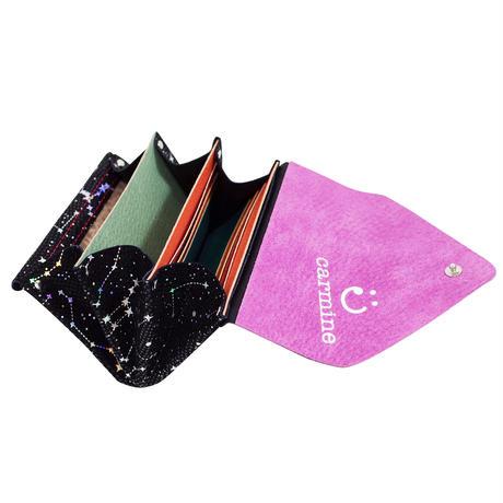 レザーミニウォレット スターリー【Leather Mini Wallet Starry】