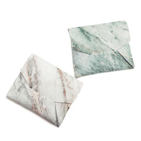 ポケットカードコインケース   -マーブルストーン- 【Pocket Card Coin Case -Marble Stone-】