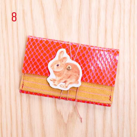 カスタマイズオーダー!レザーカードケース ヒモタイプ【Leather Card Case string type】