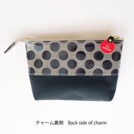 期間限定!レザーポーチ用イニシャルチャーム☆ 【Initial charm for Leather Pouch】