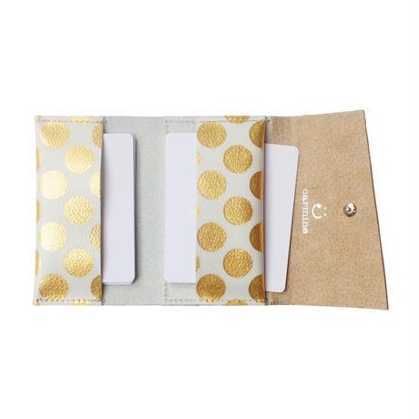 レザーカードケース クリアドット【Leather Card Case Clear Dot】