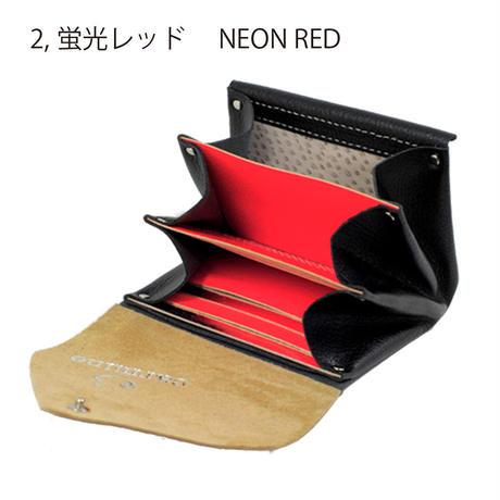 レザー ミニウォレット ブラック 【Leather Mini Wallet Black】