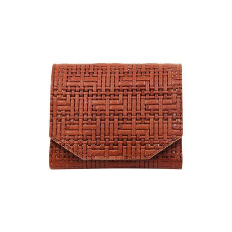 メッシュウォレットミニ ブラウン【Mesh Wallet Mini Brown】