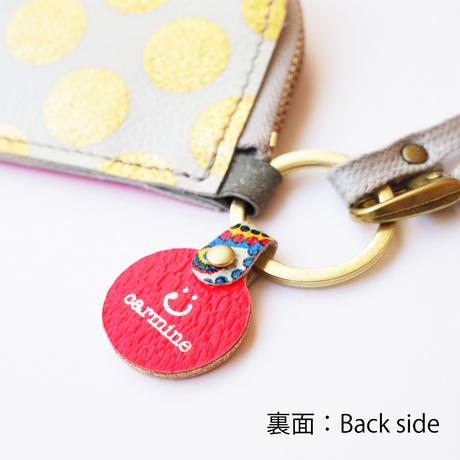 パーツのみ【D】エコカードコインケースカスタム用イニシャルチャーム☆【D】〈Initial Charm〉for Eco Card Coin Case Custom