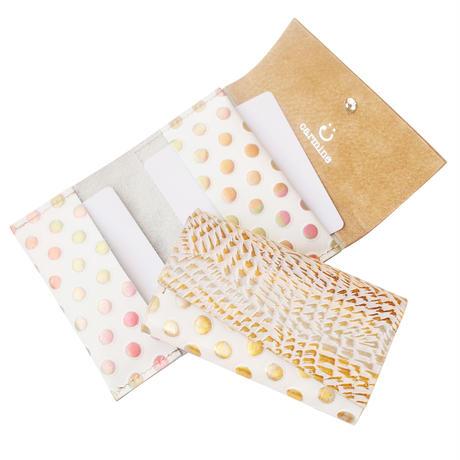 レザーカードケース メタルバード【Leather Card Case Bird】