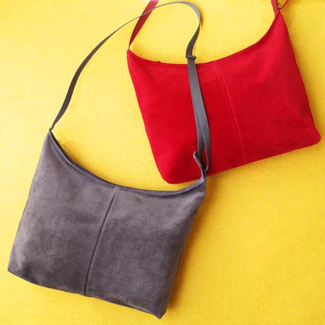 New!秋の新作 洗えるレザーサコッシュ 【New! Autumn item! Washable  Crossbody Bag】