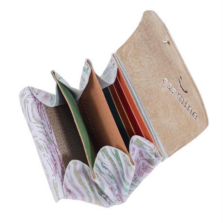 レザーミニウォレット メタルファントム【Leather Mini Wallet Metal Phantom】