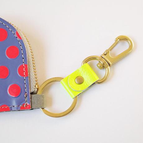 キーリング付き【B】エコカードコインケースカスタム用キーホルダー/ストラップ☆ 【B】〈Key chain/Strap〉for Eco Card Coin Case Custom