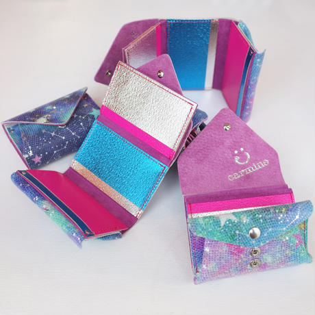 コンパクトウォレットスターリー 【Compact Wallet Super Starry, Fantasy Starry】