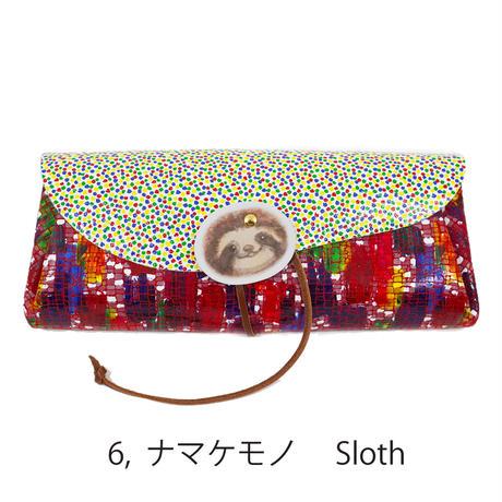 カスタマイズオーダー!ロングウォレットを買うとカードケースプレゼント!!【 Long Wallet Animal with Cardcase 】