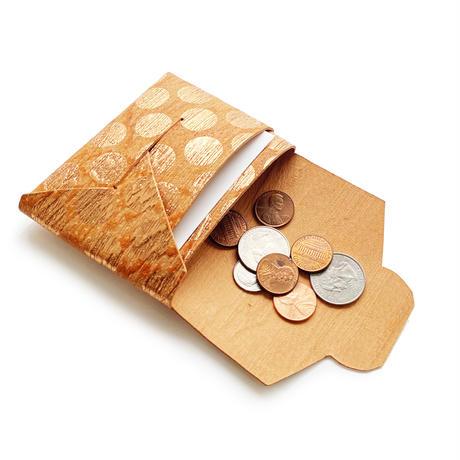 ポケットカードコインケース   -ドット- 【Pocket Card Coin Case -Dot-】