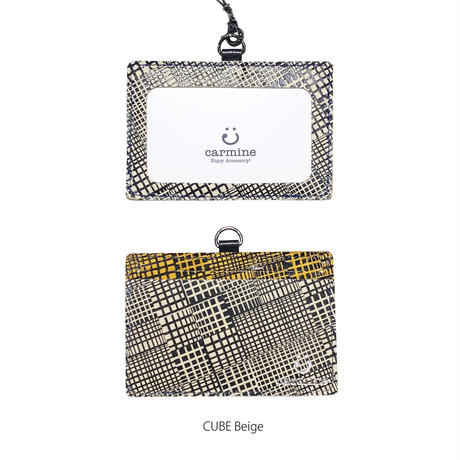 IDケース-エッチング・キューブ-【ID Card Holder -Etching・CUBE-】