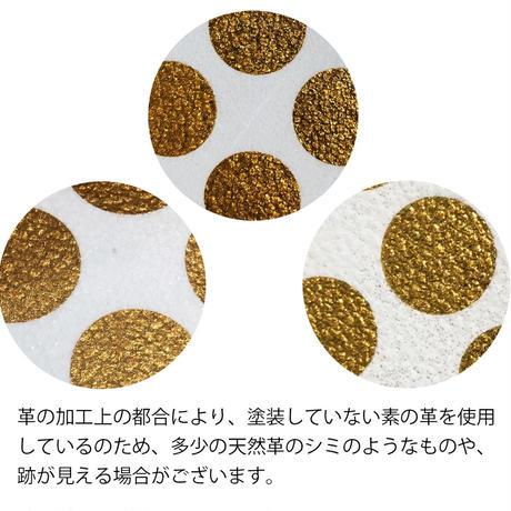 新作!レザーミニウォレット クリアドット 【Leather Mini Clear Dot 】