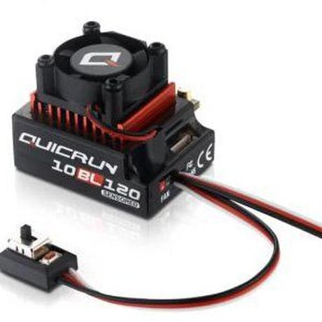 【HOBBYWING】QUICRUN10BL120 Brushless Electonic Speed Controller/ブラシレス用