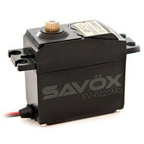 【SAVOX】SV-0220MG 高品質ハイボルテージ・デジタルサーボ
