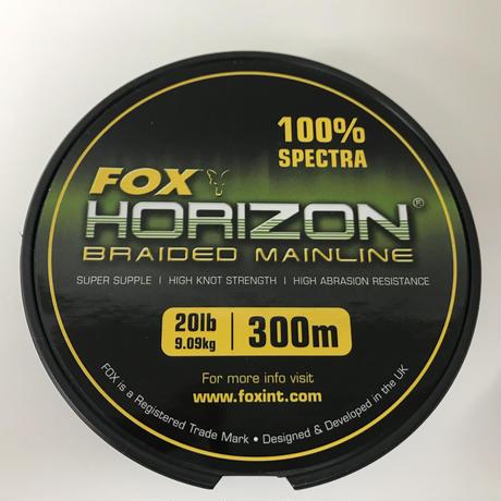 FOX ホライズン(BRAIDED MAINLINE)20lb