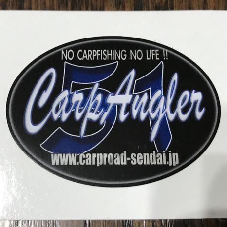CarpAngler ステッカー (L)
