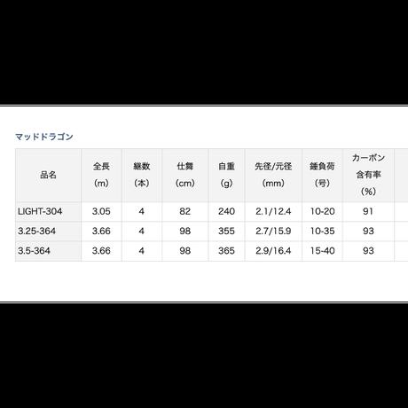 DAIWA  マッドドラゴン 3.25-364