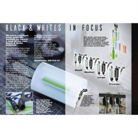 KORDA  ブラック&ホワイト ボビン(ホワイト各サイズ)