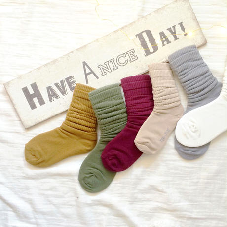 kids★ 新色追加!AW color loose socks