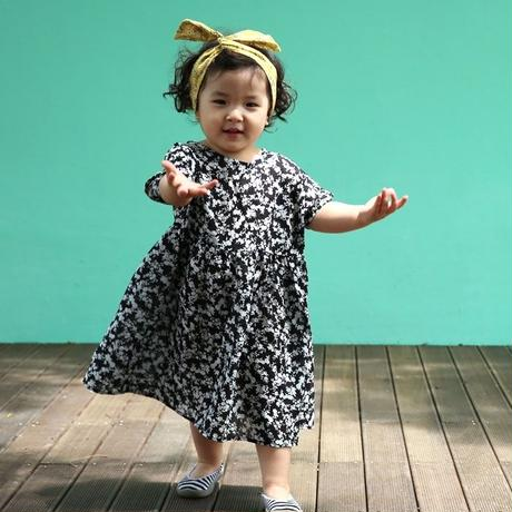 kids★Flower maxi one-piece