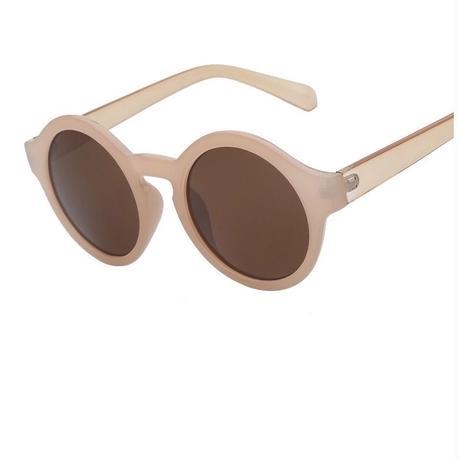 【ladies】circle sunglasses