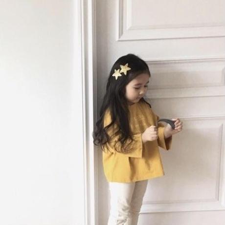 kids&Baby★STAR hair clip(2SET)