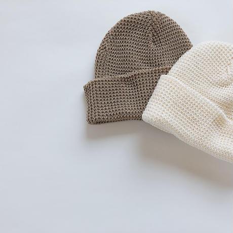 kids★waffle Knit beanie