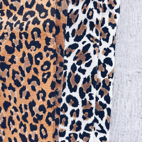 kids★leopard leggings