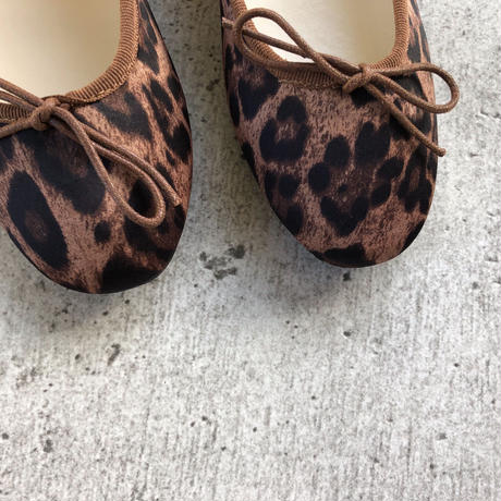 【ladies】leopard ballet shoes