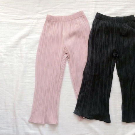 kids★pleats wide pants