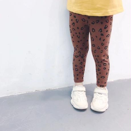 kids★simple leopard leggings
