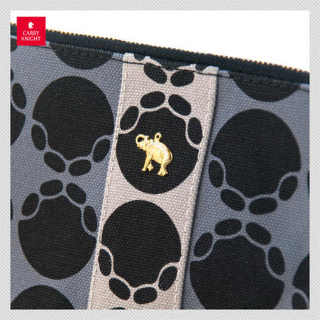 ELEPHANT POUCH〈 Gray 〉